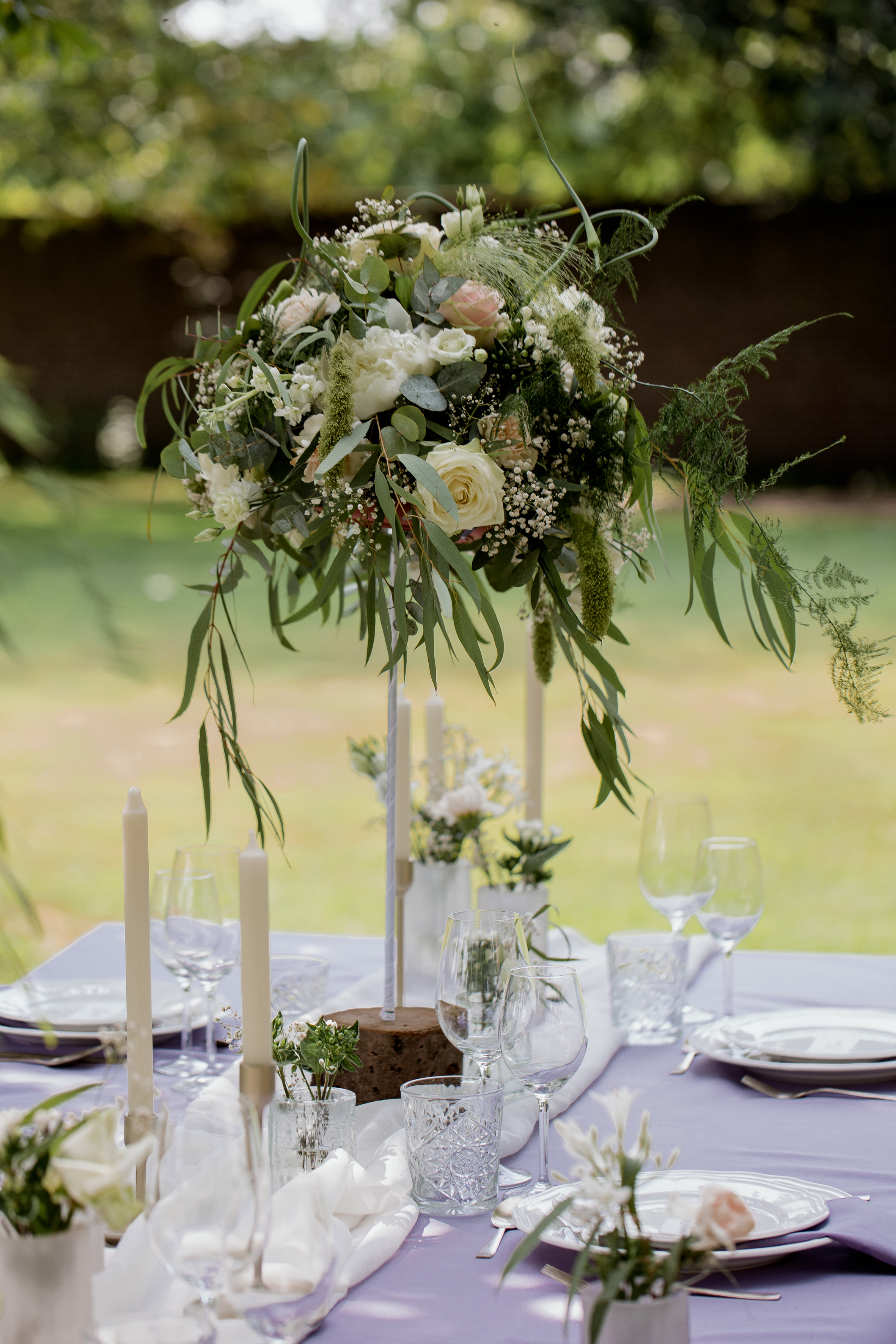 Tafel styling wedding planner