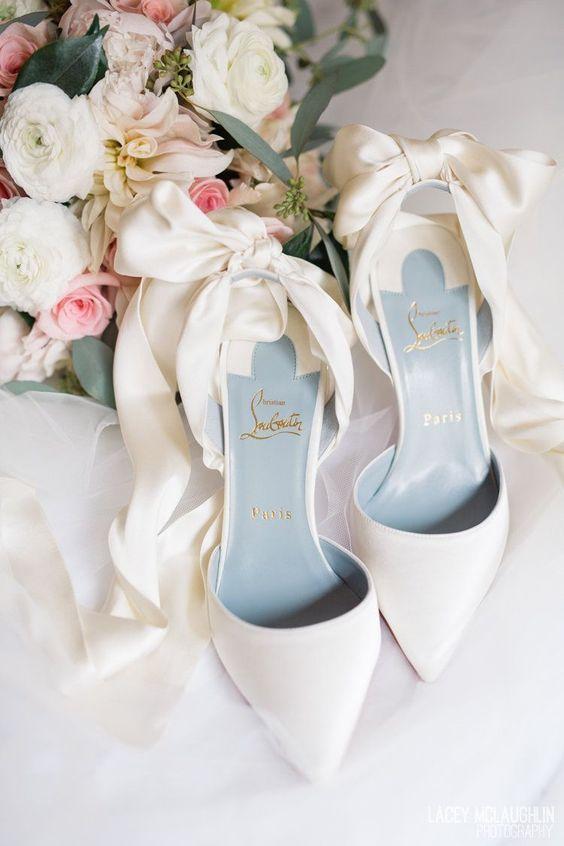 Louboutin trouwschoen